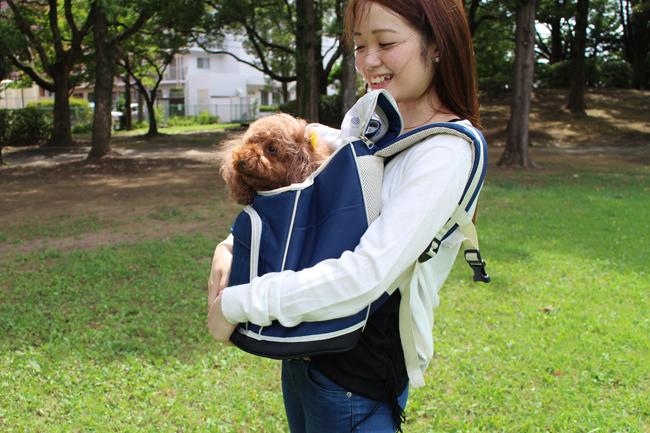 リュック型3WAYキャリーバッグ(猫・犬兼用タイプ)