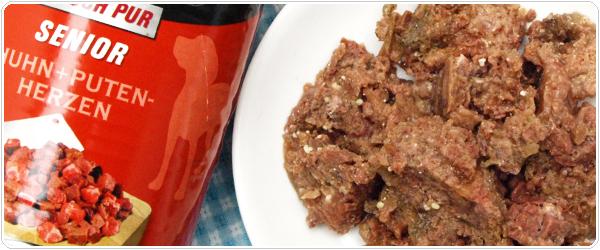 アニモンダ グランカルノ ウェットフード シニア 牛肉と鶏肉と七面鳥の心臓 中身