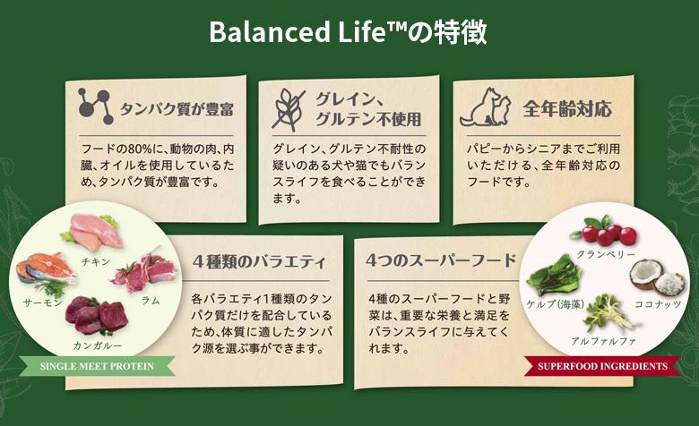 Balanced Life バランスライフの特徴