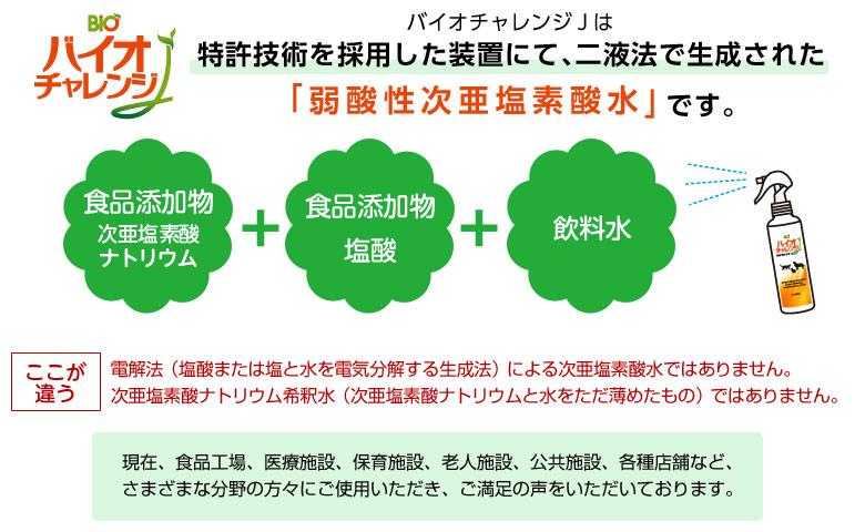 バイオチャレンジJの生成方法