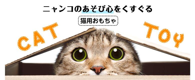 ニャンコのあそび心をくすぐる猫用おもちゃ CAT TOY