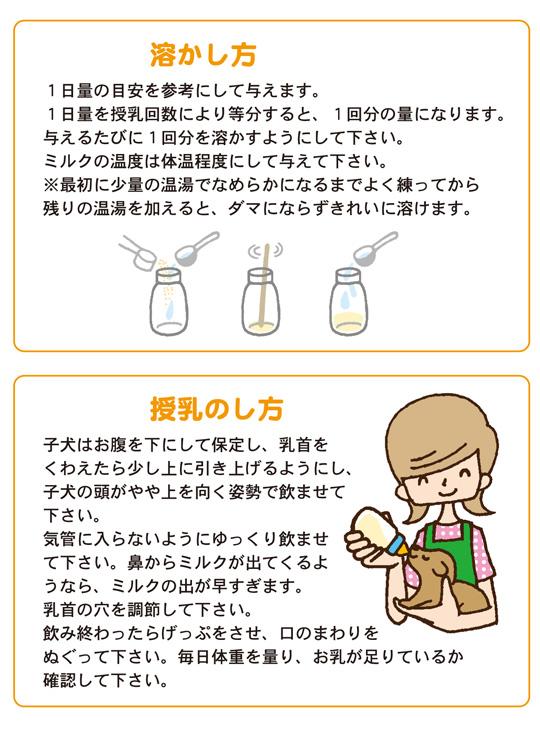 ミルクの与え方