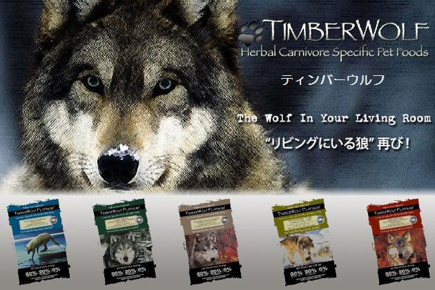 ティンバーウルフ リビングにいる狼