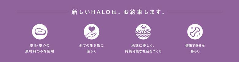 HALO 新しいHALOはお約束します