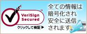 お客様のデータはSSL暗号通信により安全に送信されます