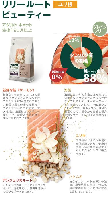 ビゴー&セージ 商品紹介:リリールートビューティ